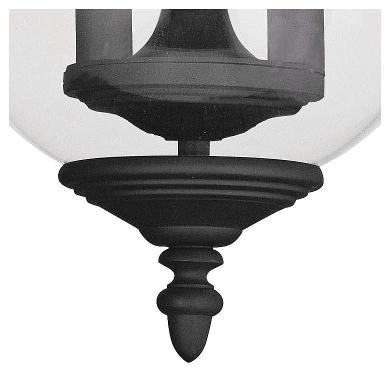 "Legacy 11 1/2"" Wide Black 3-Light Ceiling Light more views"