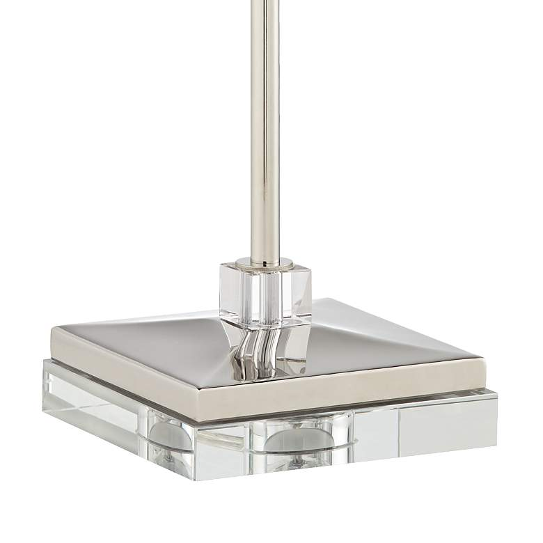 Sissi Polished Nickel Console Table Lamp more views