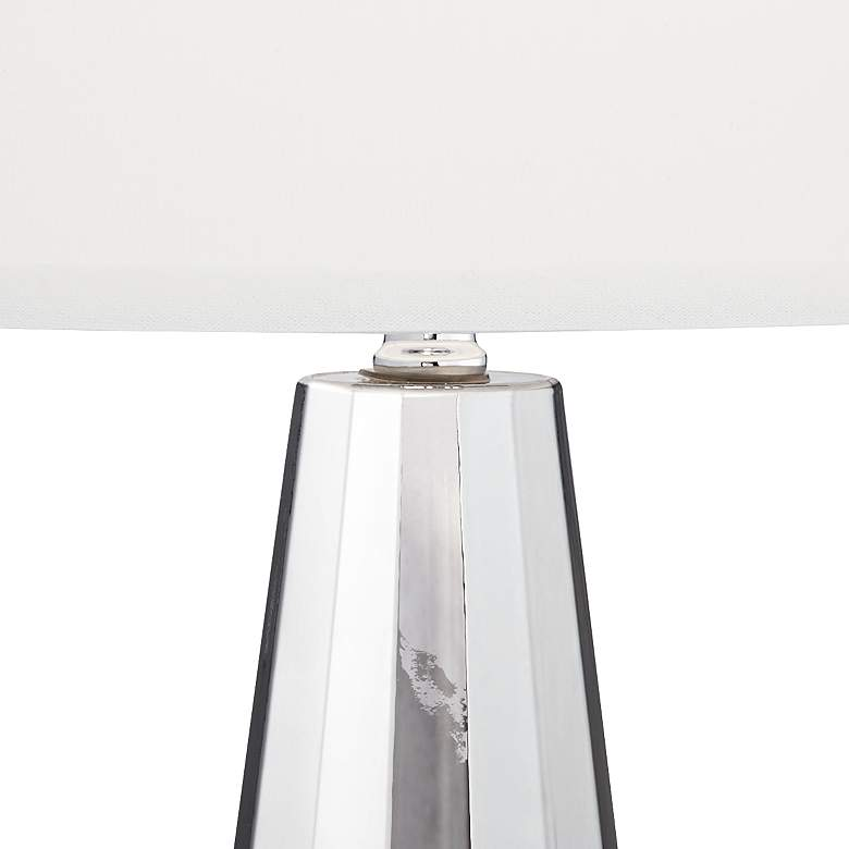 Charcoal Topaz Chrome Table Lamp more views