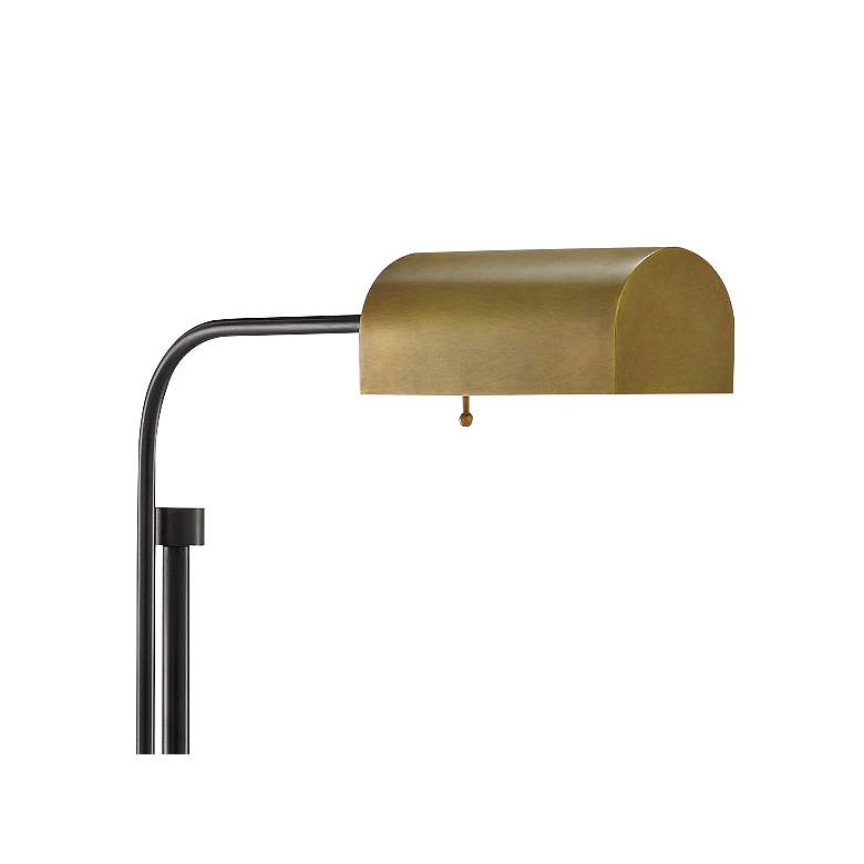 Hearst Oil-Rubbed Bronze and Antique Brass Floor Lamp more views