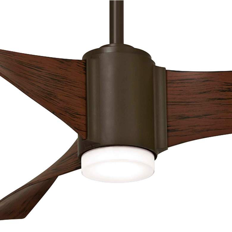 "60"" Minka Aire Triple Oil Rubbed Bronze LED Ceiling Fan more views"