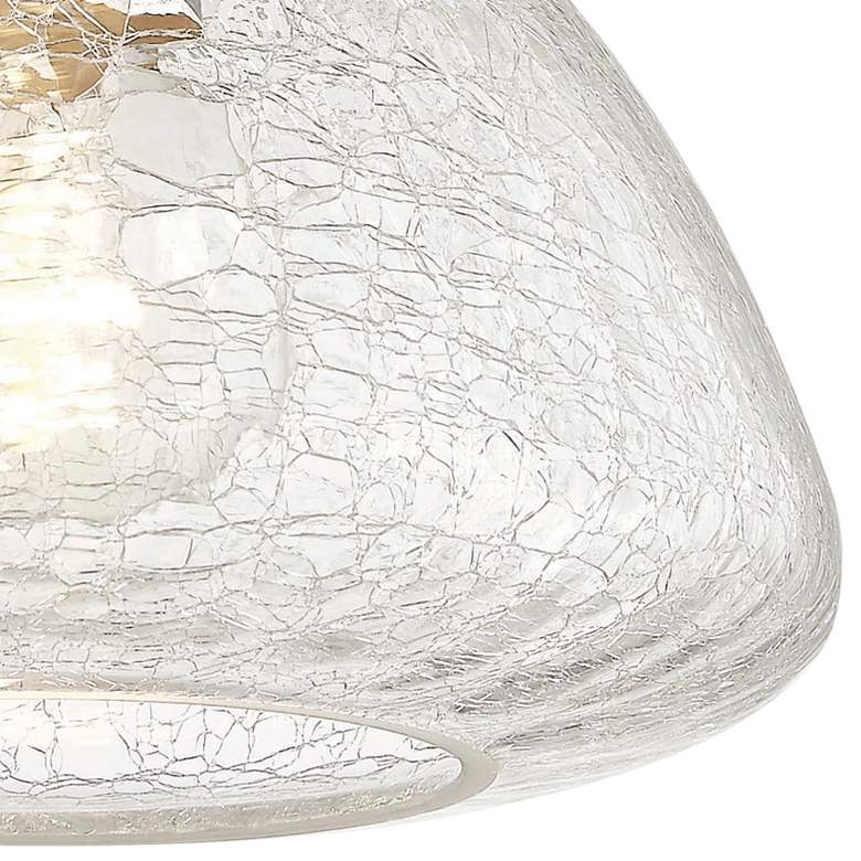 "Mitzi Maya 9"" Wide Polished Nickel Ceiling Light more views"