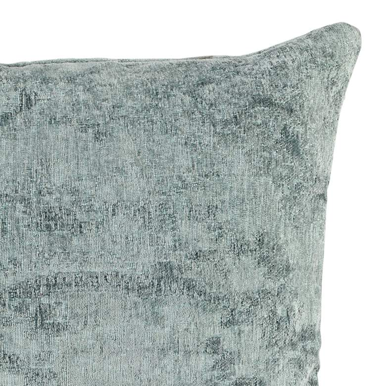 "Oliver Sage Green 22"" Square Throw Pillow more views"