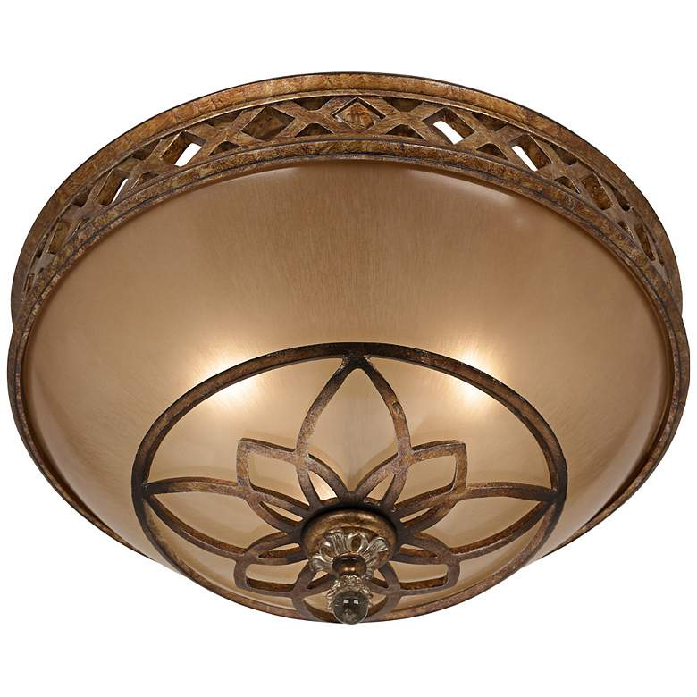 "Minka Aston Court Bronze 15 3/4"" Wide Ceiling Light Fixture more views"