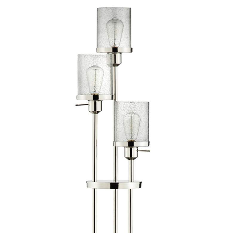 Marcella Polished Nickel Floor Lamp more views