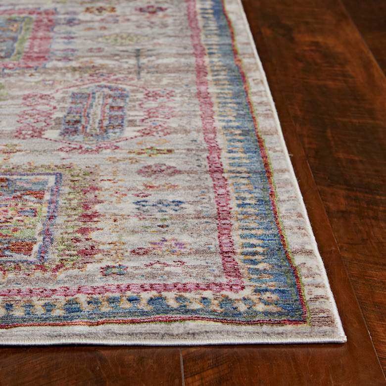 "Ashton 7705 5'3""x7'7"" Gray Verona Area Rug more views"