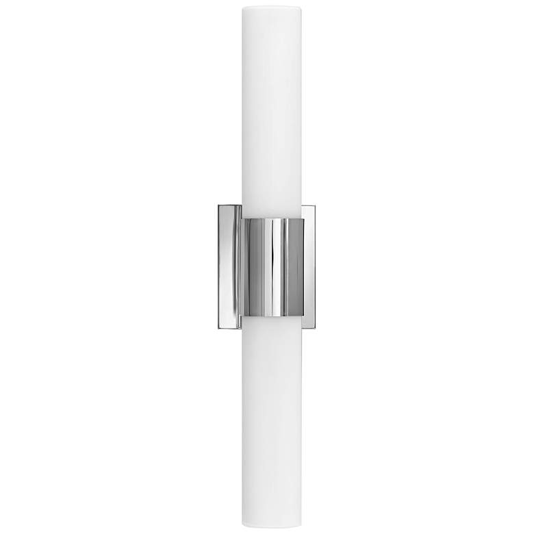 "Hinkley Portia 24 1/2"" Wide Polished Nickel LED Bath Light more views"