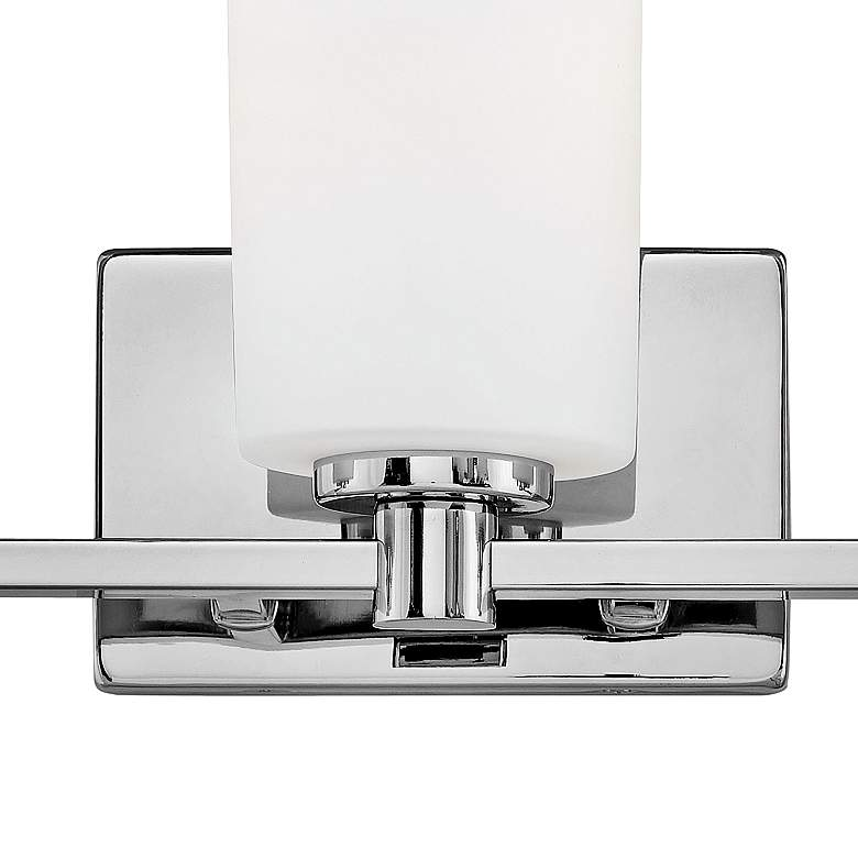 "Hinkley Karlie 35 1/2"" Wide Chrome 5-Light Bath Light more views"