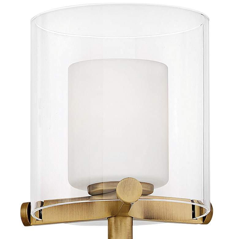 "Hinkley Rixon 24"" Wide Heritage Brass 3-Light LED Bath Light more views"