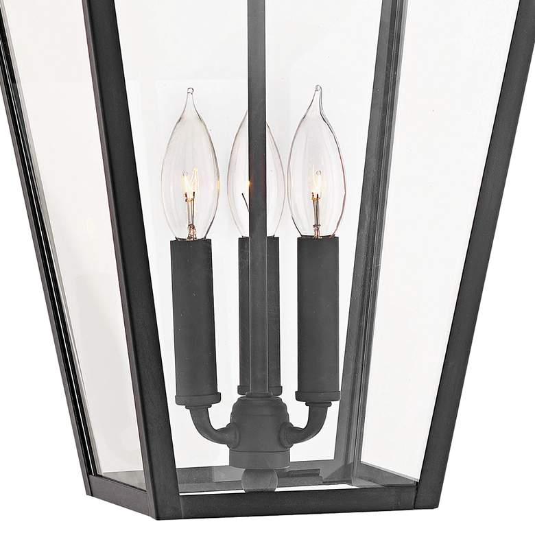 "Alford Place 19 1/2"" High Museum Black Outdoor Hanging Light more views"