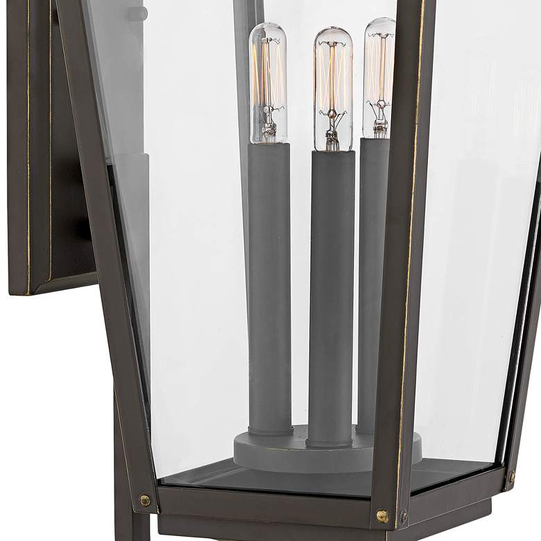 "Hinkley Jaymes 24"" High Oil-Rubbed Bronze Outdoor Wall Light more views"