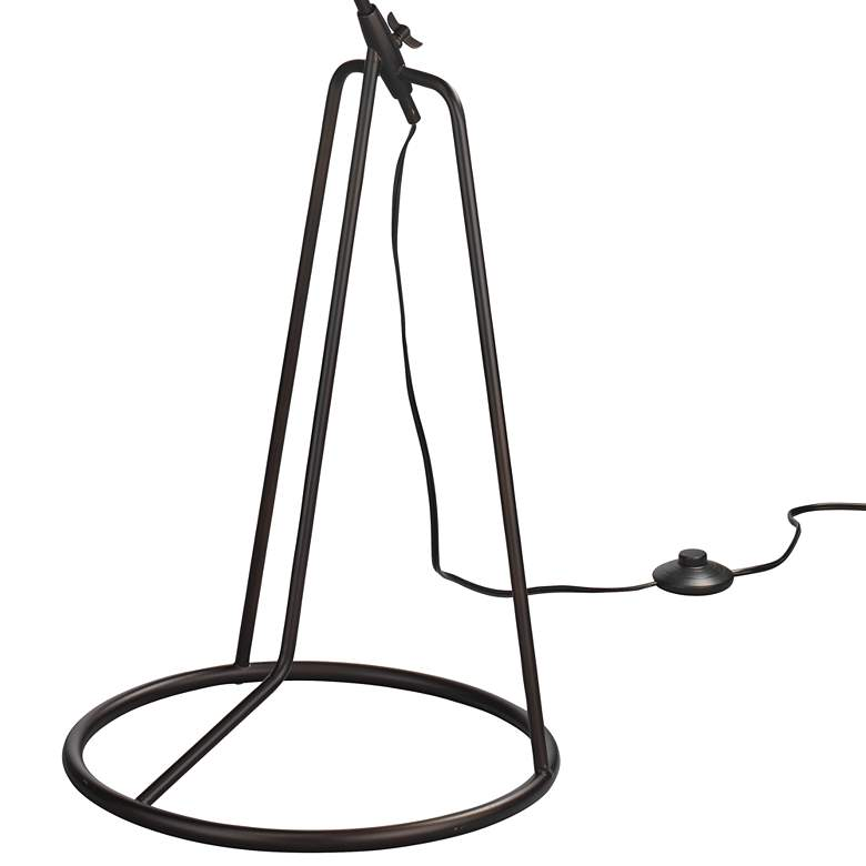 Jamie Young Franco Oil-Rubbed Bronze Tripod Floor Lamp more views