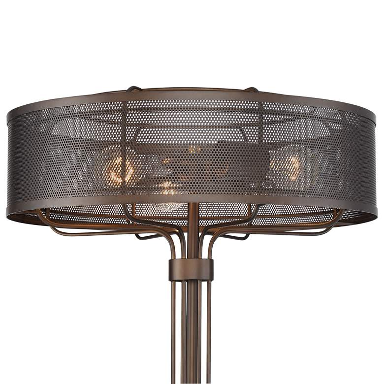 Felix 3-Light Metal Industrial Floor Lamp more views