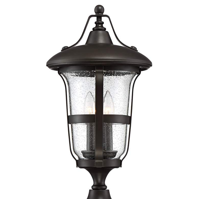 "Birmingham 21 1/2"" High Bronze 3-Light Outdoor Post Light more views"
