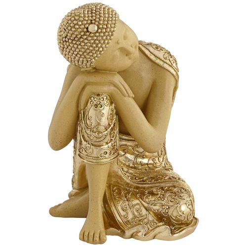 "Peace 14"" High Sleeping Buddha Statue"