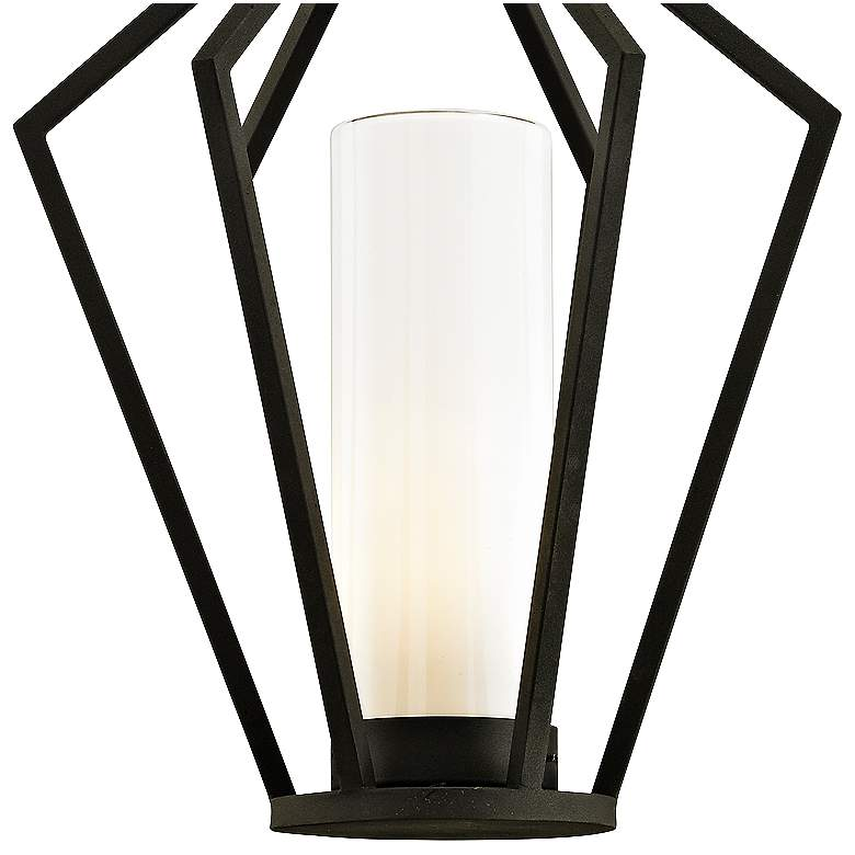 "Whitley Heights 20 1/2"" High Black Outdoor Hanging Light more views"