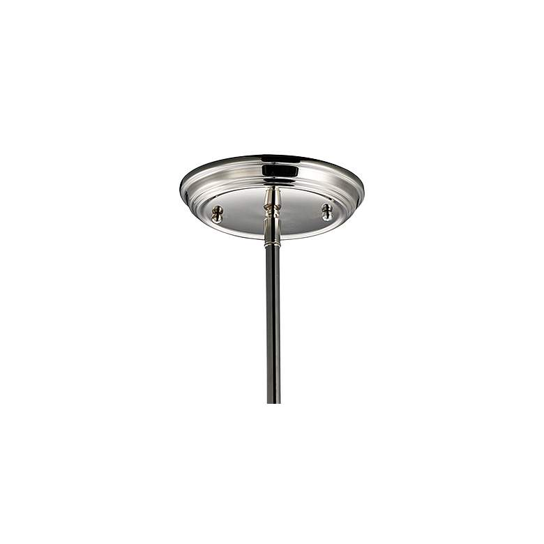 "Maxim Lucent 24"" Wide Polished Nickel 4-Light Pendant more views"