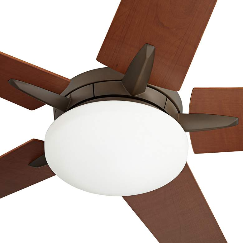 "56"" Casa Endeavor® Bronze and Walnut LED Ceiling Fan more views"