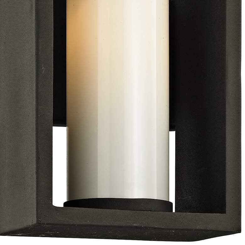"Mondrian 12"" High Textured Bronze Outdoor Wall Light more views"