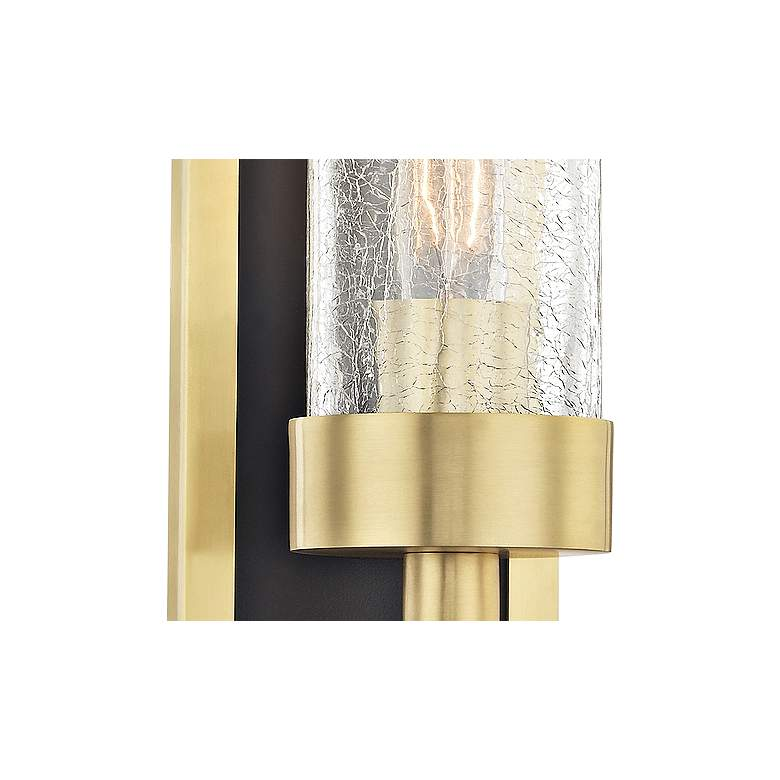 "Hudson Valley Soriano 16 3/4"" High Aged Brass Wall Sconce more views"