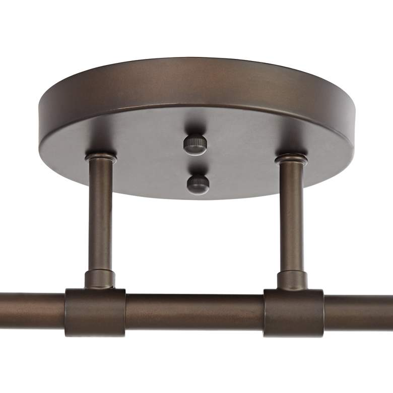 Pro Track Elm Park 4-Light Oiled Rubbed Bronze Track Fixture more views