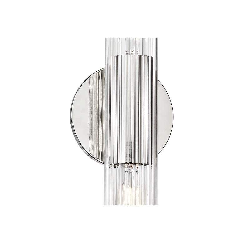 "Mitzi Cecily 25"" High Polished Nickel 2-Light Wall Sconce more views"