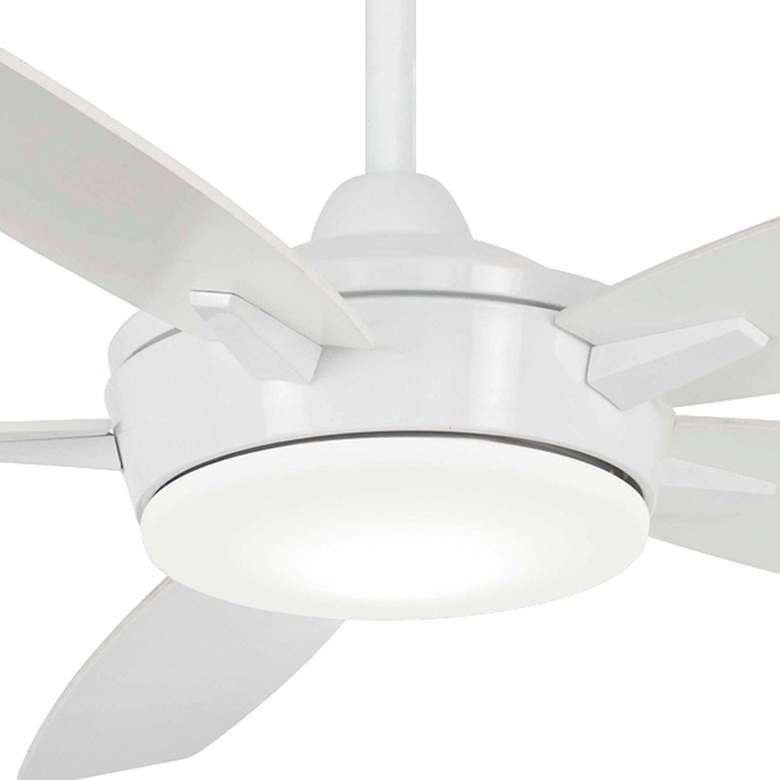 "52"" Minka Aire Espace White LED Ceiling Fan more views"