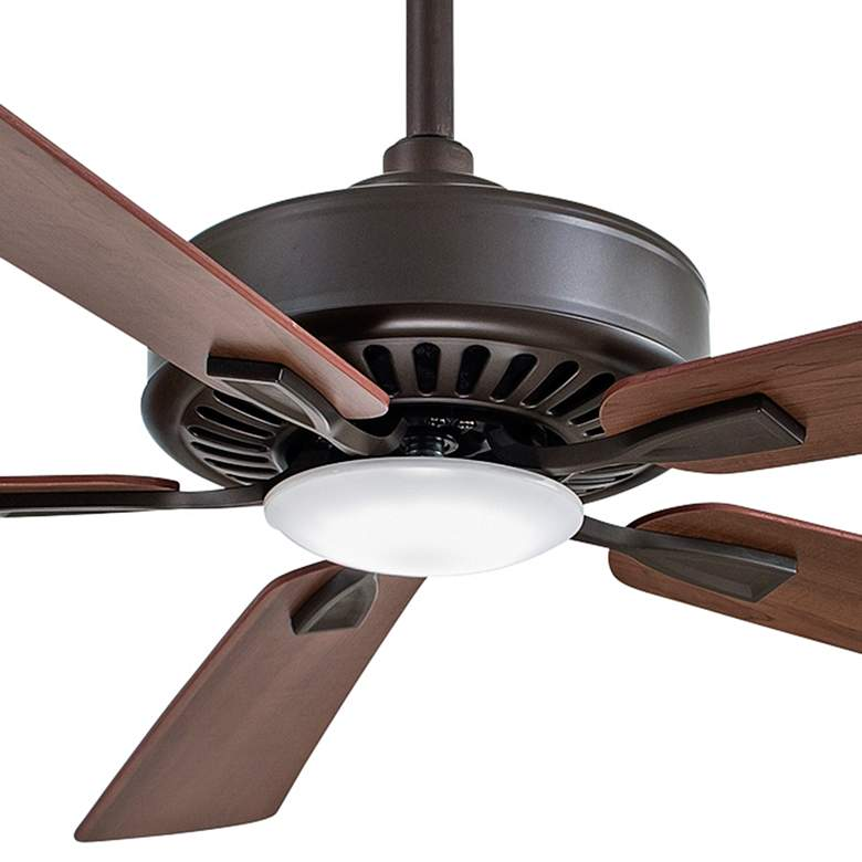 "52"" Minka Aire Contractor Oil-Rubbed Bronze LED Ceiling Fan more views"