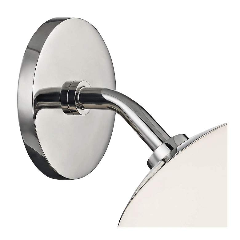 "Mitzi Estee 10"" High Polished Nickel Wall Sconce more views"