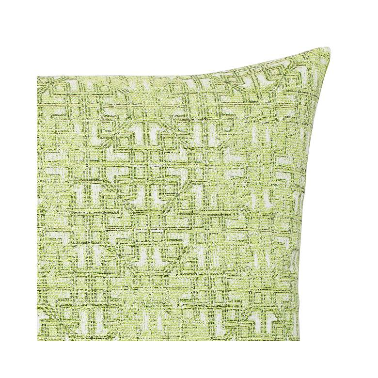 "Gate Greenery 20"" Square Indoor-Outdoor Decorative Pillow more views"