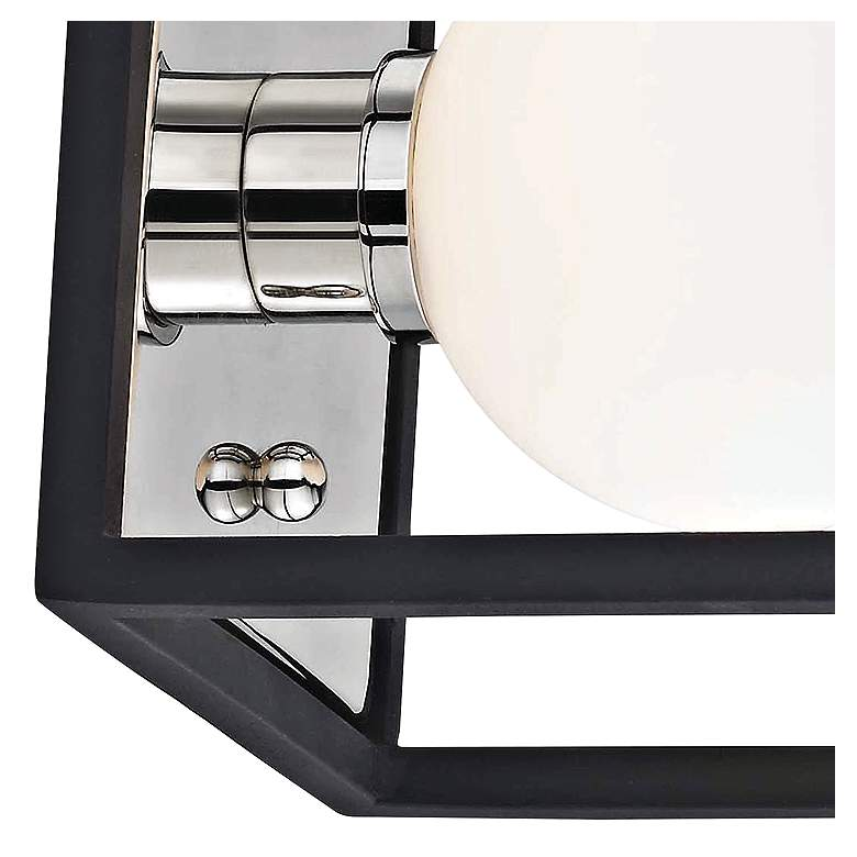 "Mitzi Aira 5"" High Polished Nickel LED Wall Sconce more views"