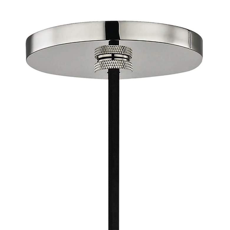 "Mitzi Neko 5 1/2"" Wide Polished Nickel Mini Pendant more views"