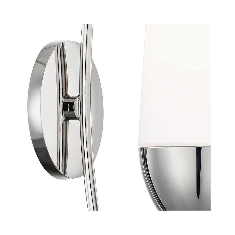 "Mitzi Amee 17 1/4"" High Polished Nickel Wall Sconce more views"