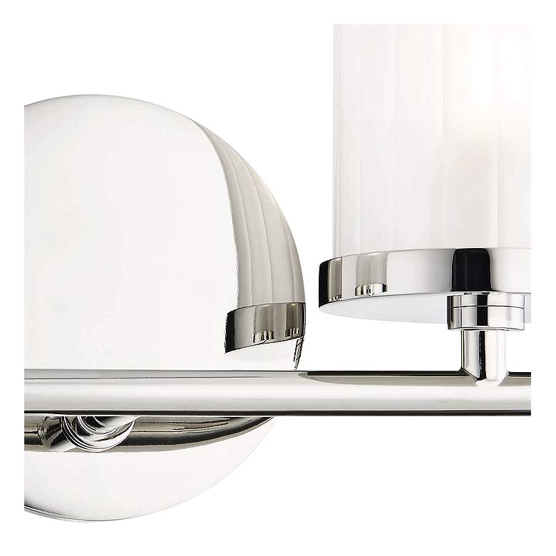 "Mitzi Ryan 6 1/4"" High Polished Nickel 2-Light Wall Sconce more views"