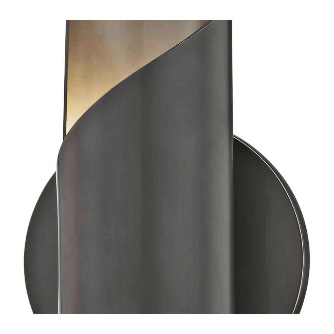 "Mitzi Evie 10"" High Old Bronze LED Wall Sconce"