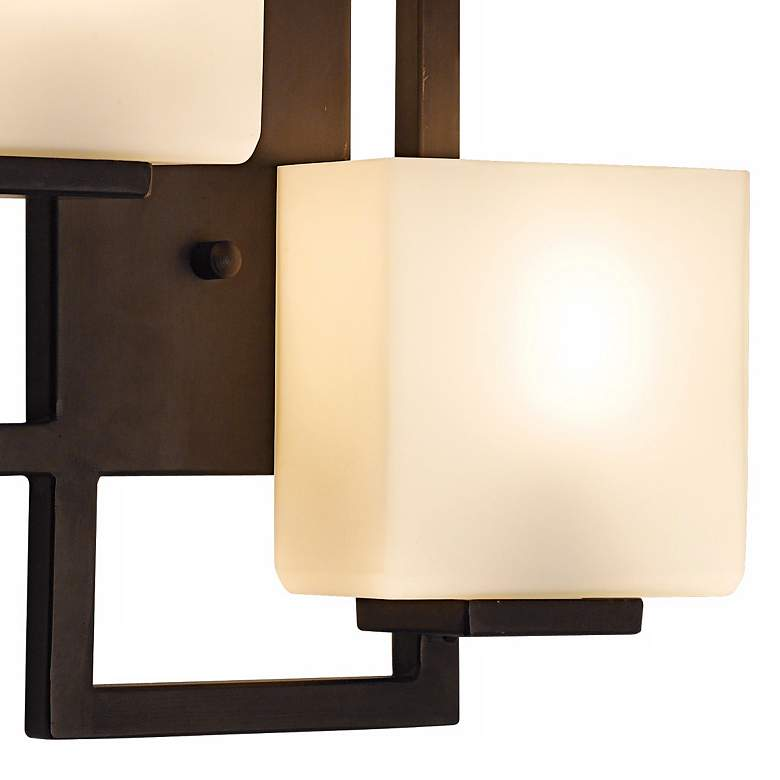 "Lighting on the Square 15 1/2"" High Bronze Wall Sconce more views"