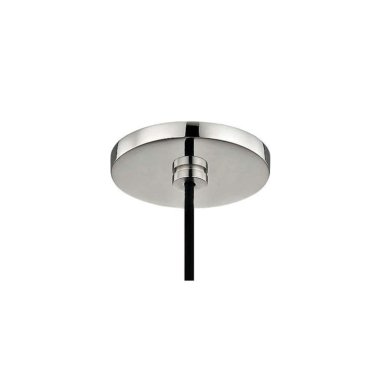 "Mitzi Emma 6"" Wide Polished Nickel Mini Pendant more views"