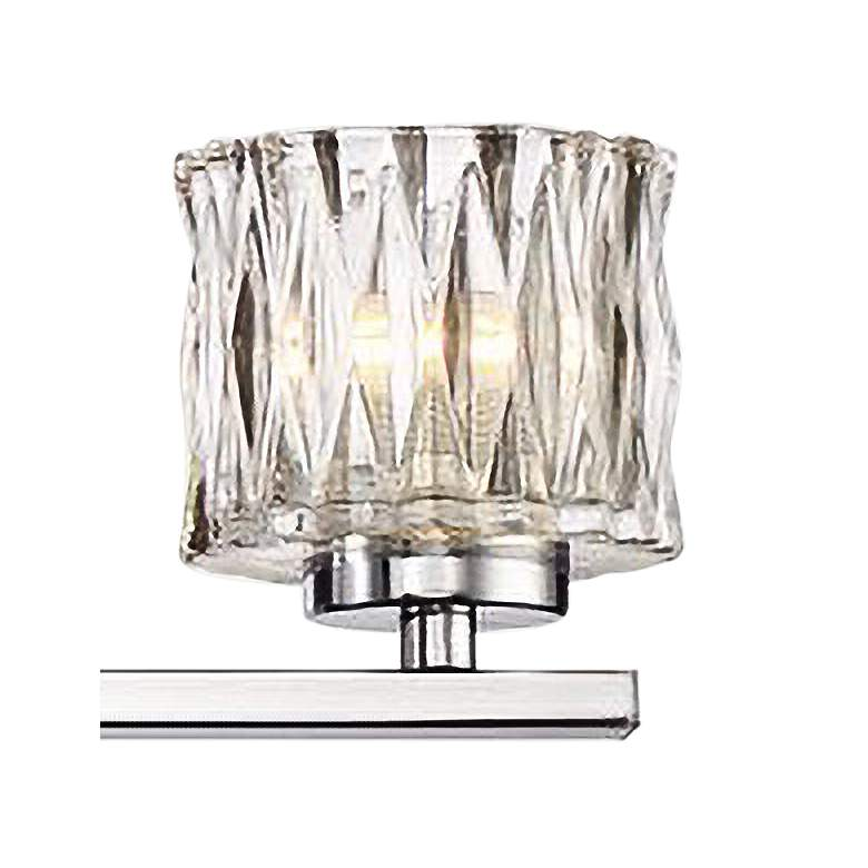 "Eurofase Guelph 31 3/4"" Wide Chrome 5-Light LED Bath Light  more views"