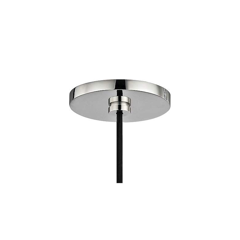 "Mitzi Jasmine 12"" Wide Polished Nickel Mini Pendant more views"