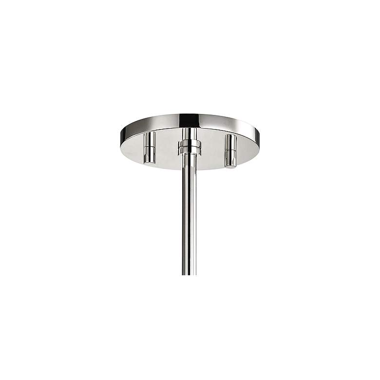 "Mitzi Jenny 6 1/2"" Wide Polished Nickel Mini Pendant more views"