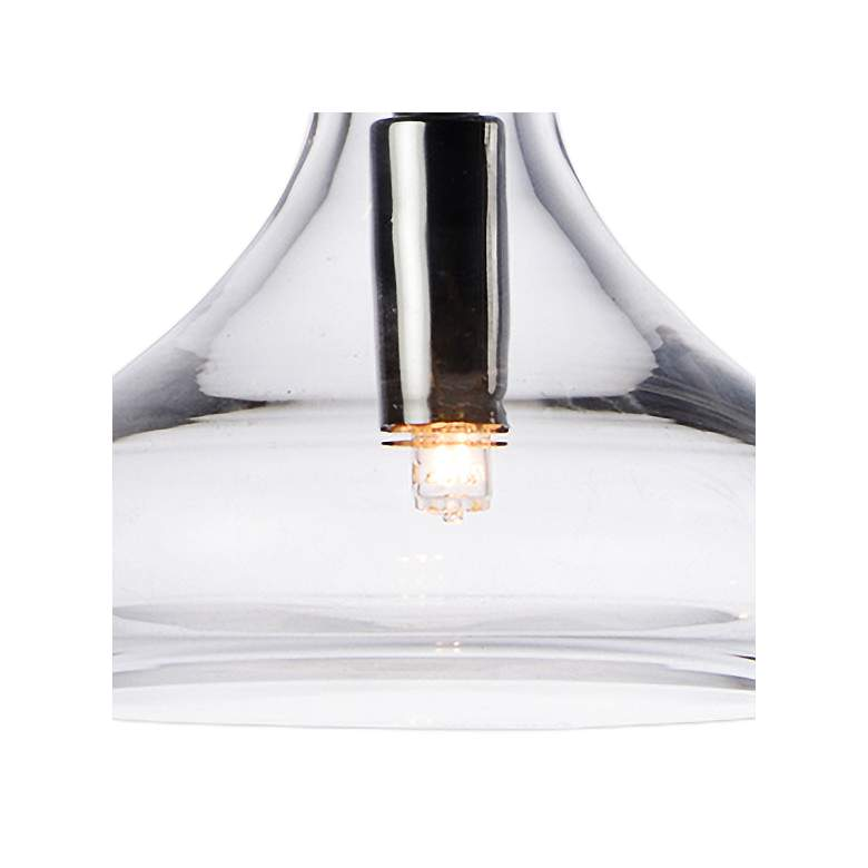 "ET2 Kem 6 1/4"" Wide Polished Chrome Mini Pendant more views"