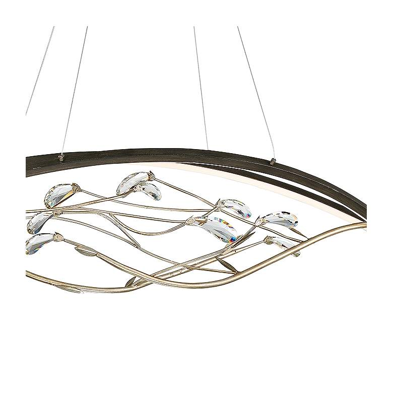 "Basilica 47 1/4"" Wide Bronze 2-Light LED Island Chandelier more views"