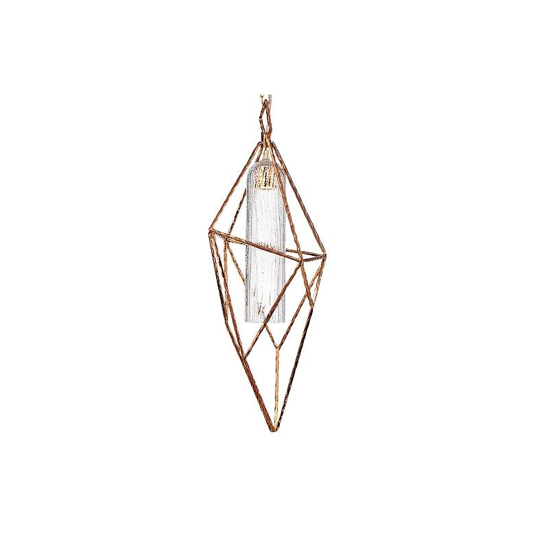 "Verdino Asymmetric 10 1/4"" Wide Gold LED Mini Pendant more views"