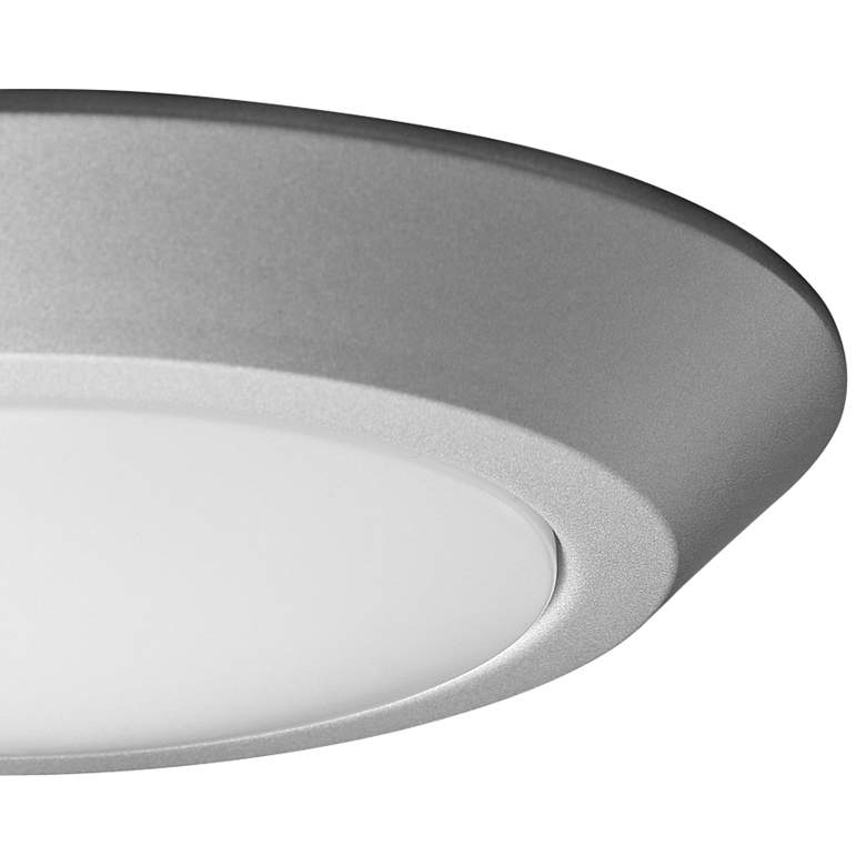 "Satco Nuvo Lighting 10""W Brushed Nickel LED Ceiling Light more views"