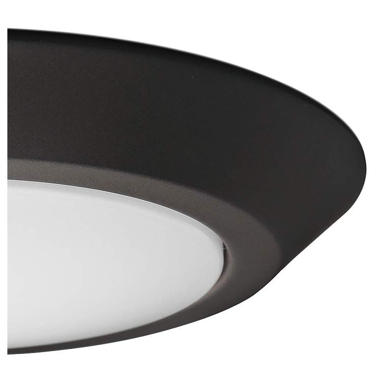 "Satco Nuvo Lighting 10""W Mahogany Bronze LED Ceiling Light more views"