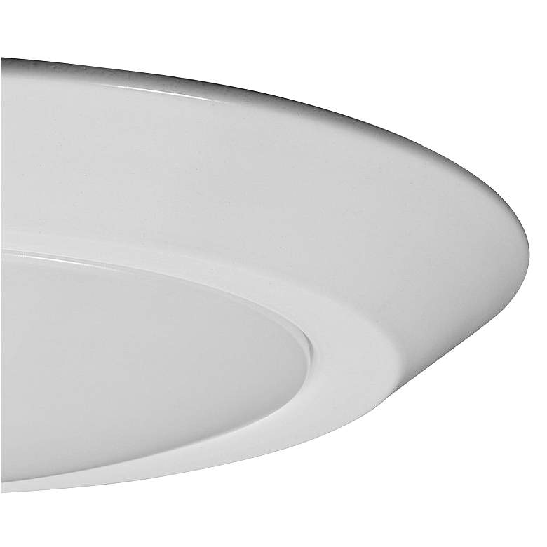 "Satco Nuvo Lighting 10"" Wide White 4000K LED Ceiling Light more views"