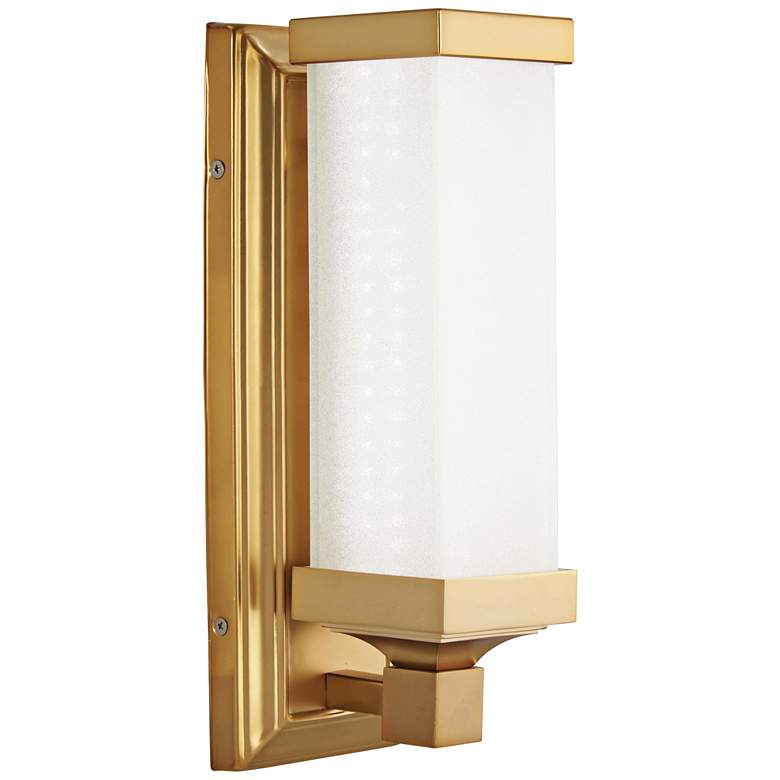 "Kella 13"" High Liberty Gold LED Wall Sconce more views"