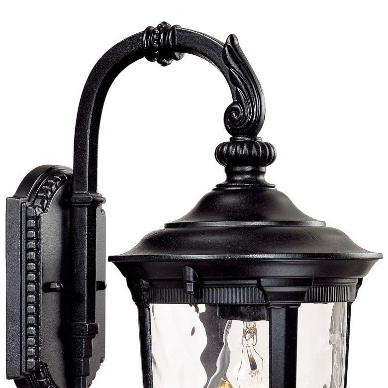 "Bellagio 16 1/2"" High Black Downbridge Outdoor Wall Light more views"