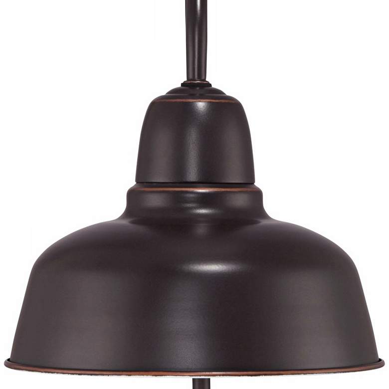 "Urban Barn Collection 15 3/4"" High Bronze Outdoor Post Light more views"