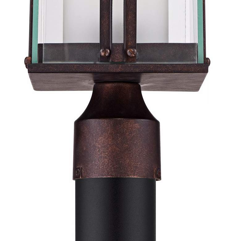 "Fallbrook Collection 15 3/4"" High Bronze Outdoor Post Light more views"